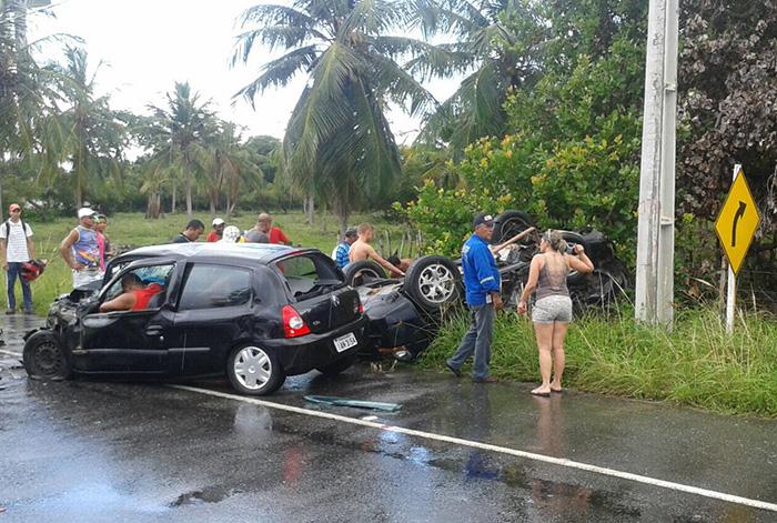 acidente Barra dos Coqueiros Sergipe