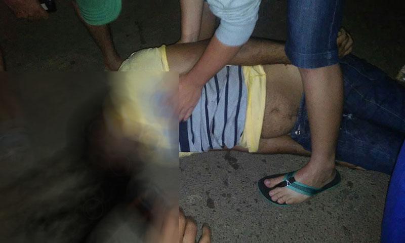 acidente comemoração eleições Carira Sergipe