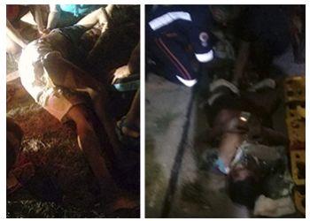 Colisão na BR-235, em Itabaiana, deixa ocupantes de motocicleta gravemente feridos