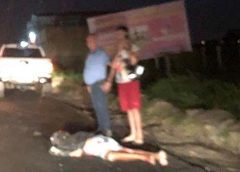Colis�o envolvendo Pick-Up e Ciclomotor deixa uma pessoa morta na Rodovia Jo�o Paulo II