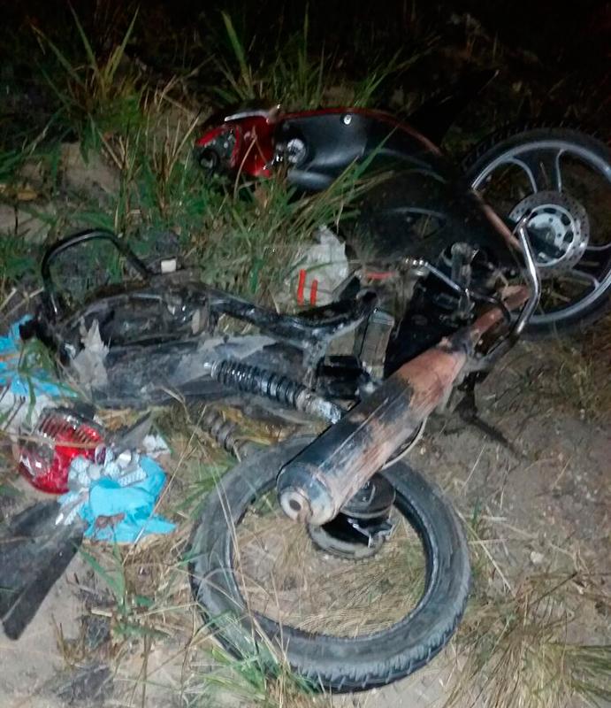 acidente BR-235 Povoado Gandu Itabaiana Sergipe