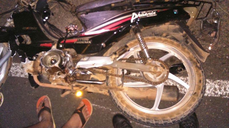 acidente motocicleta Itabaiana Sergipe