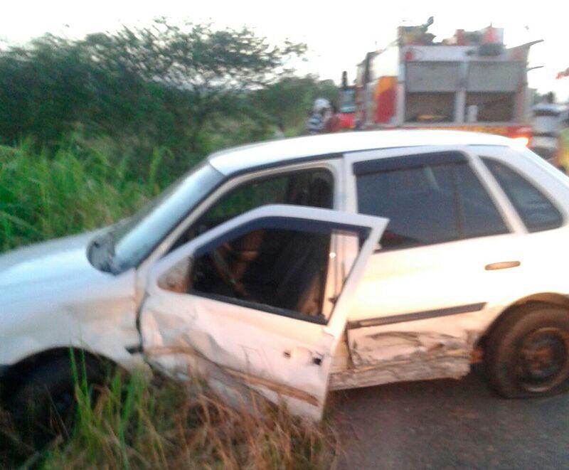 Acidente rodovia João Paulo Itabaiana Sergipe