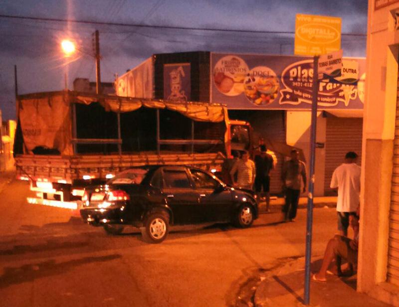 acidente centro Itabaiana Sergipe