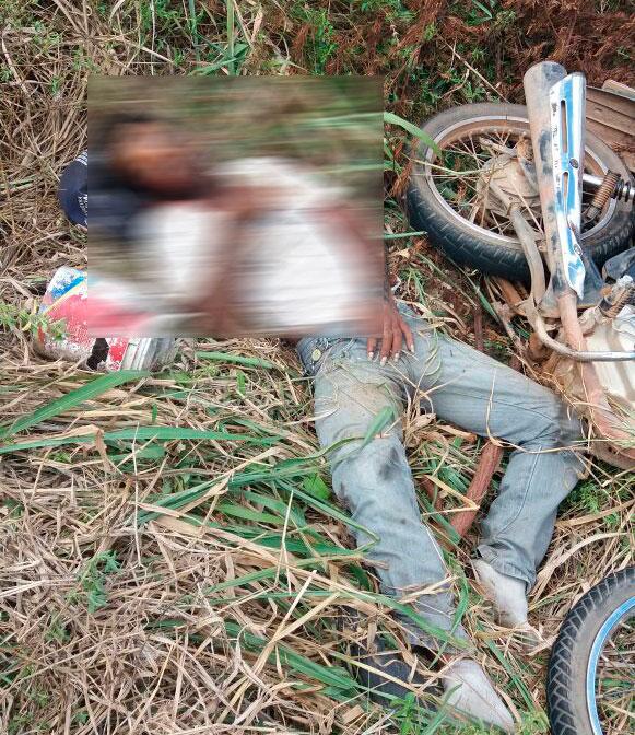 acidente motocicleta BR-235 Areia Branca Sergipe
