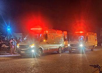 Duas pessoas ficam feridas ap�s se envolverem em acidente na Rodovia Jo�o Paulo II