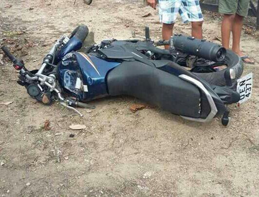 acidente motocicleta candeias moita bonita sergipe