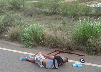 N�o resistiu: v�tima de acidente com motocicleta em Frei Paulo, jovem morre em hospital