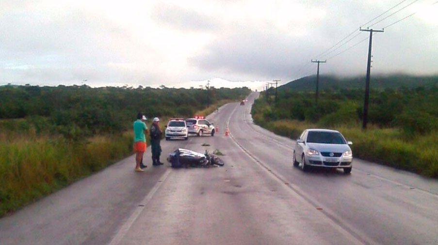 acidente moto Lagarto Sergipe