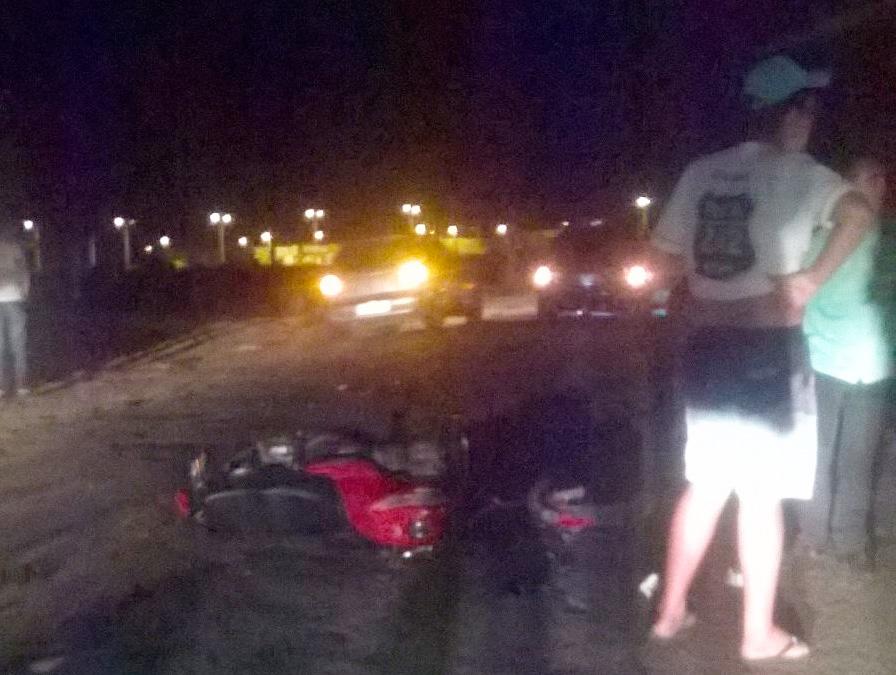 acidente moto micro ônibus Ribeirópolis Sergipe