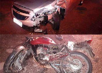 Motociclista morre na cidade de Campo do Brito após colisão com um carro de passeio
