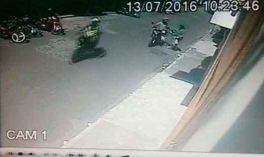 acidente motocicletas Itabaiana Sergipe