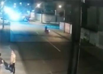 Redutor de velocidade sem sinaliza��o provoca acidentes com motocicletas na cidade de Itabaiana