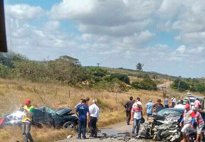 acidente Rota do Sertão Monte Alegre de Sergipe