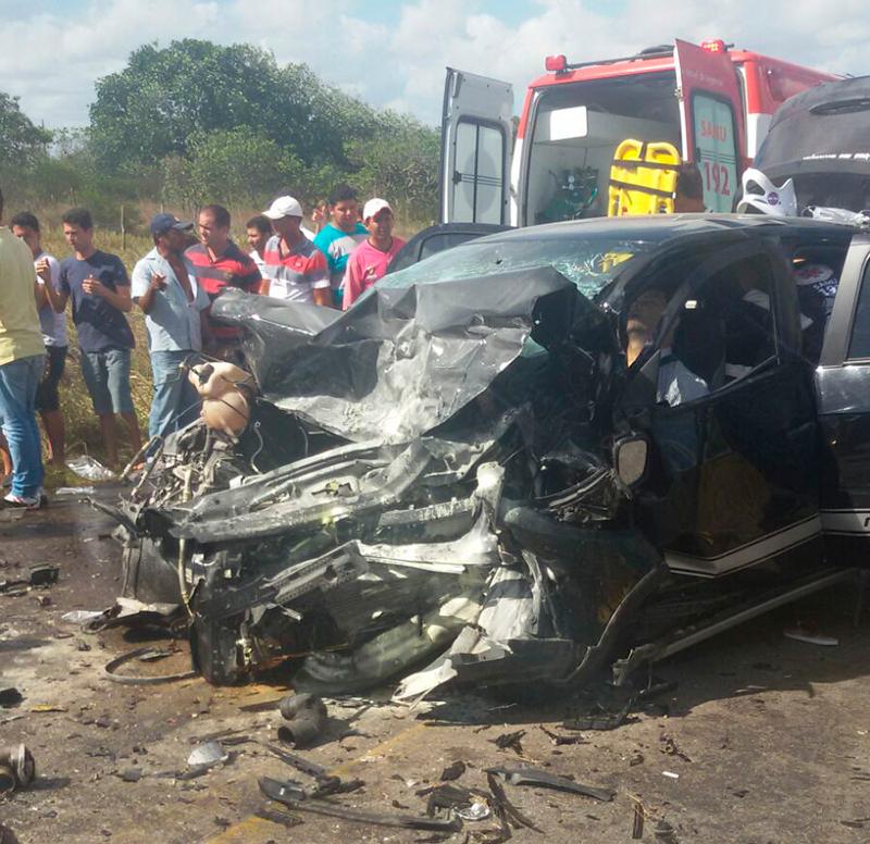acidente Rota do Sertão Ribeirópolis Sergipe