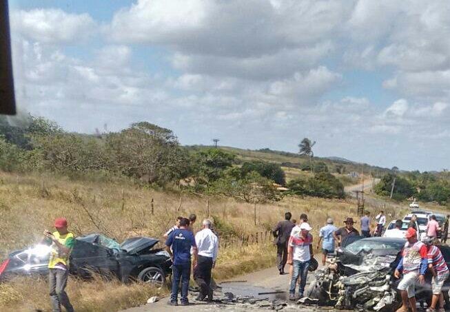 Acidente rodovia Rota do Sertão Ribeirópolis sergipe