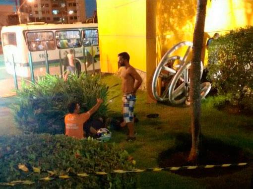 acidente Shopping Jardins Aracaju Sergipe