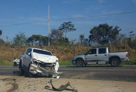acidente Taxi BR-101 Maruim Sergipe