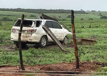 Empres�rio itabaianense sofre acidente automobil�stico no Sert�o sergipano
