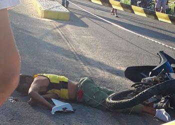 Motociclista morre em Moita Bonita ao colidir veículo de duas rodas com carro de passeio