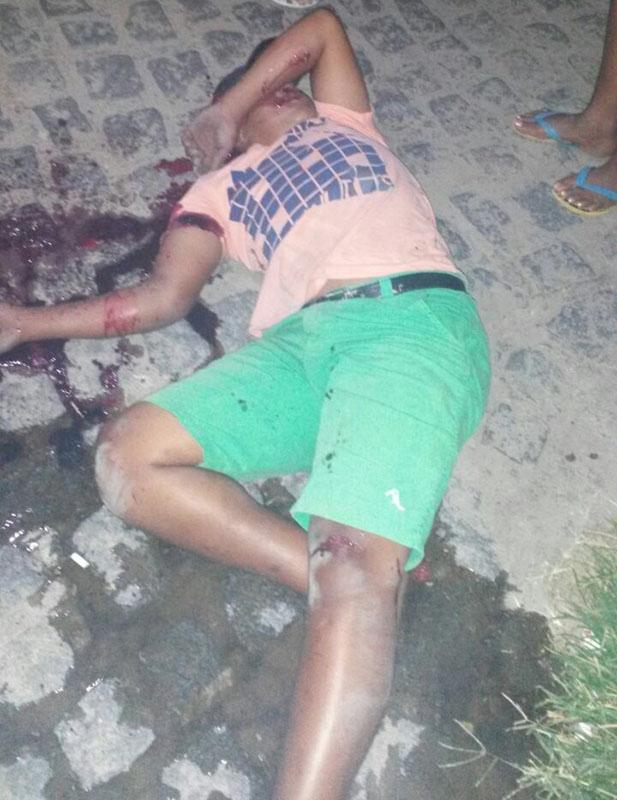 adolescente assassinado Itabaiana Sergipe