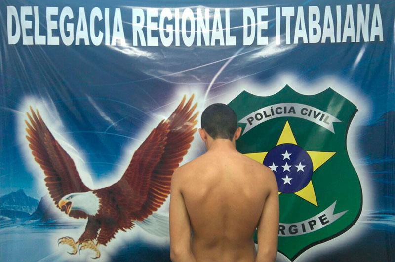 adolescente Revólver Cocaína Itabaiana Sergipe