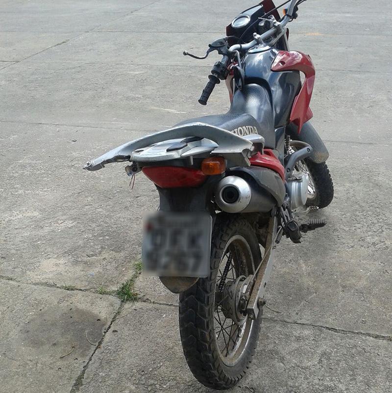 motocicleta roubada candeias Moita Bonita Sergipe
