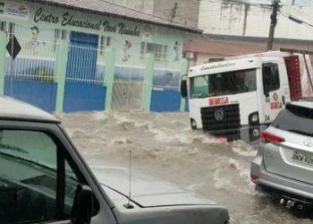Cidade de Itabaiana volta a enfrentar novos alagamentos no Centro e Periferia