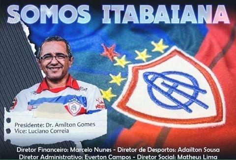 Amilton Gomes Presidente Associação Olímpica Itabaiana Sergipe