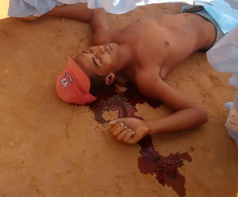 homicídio tiros Itabaiana Sergipe