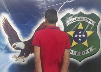 Adolescente suspeito de ato infracional, equiparado a homicídio, ocorrido em Itabaiana é apreendido no Sertão sergipano