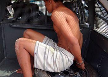 Jovem com mandado judicial de interna��o em aberto � apreendido pela Pol�cia Militar