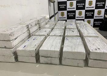 PC apreende mais de 50 quilos de cocaína e material de campanha eleitoral de candidato a vereador da capital sergipana
