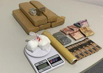 Homem natural de Itabaiana é preso pela Polícia Civil em Simão Dias, juntamente com um comparsa, por tráfico de drogas