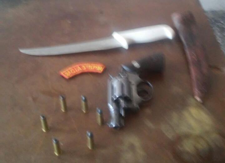 Apreensão revólver Pinhão Sergipe