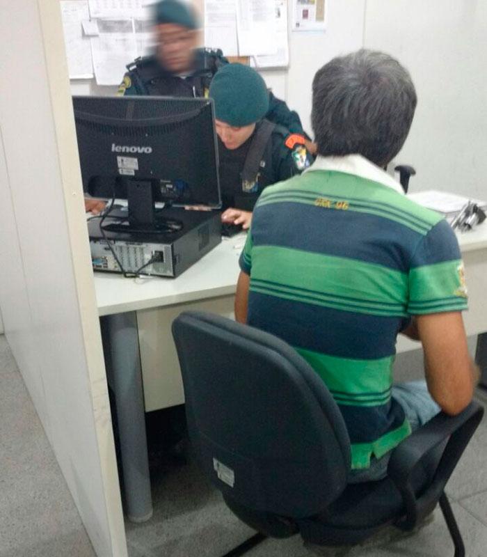 apreensão revólver zona rural Itabaiana Sergipe