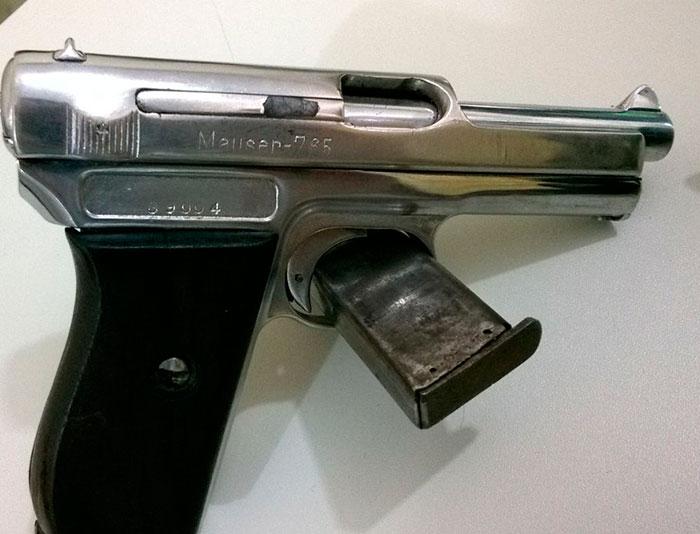 (Armas apreendidas / PM Sergipe e Alagoas)