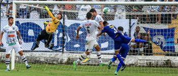 Confian�a estreia com empate na S�rie C do Campeonato Brasileiro