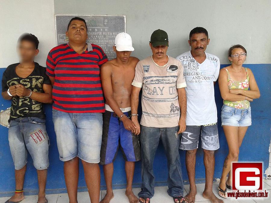 assaltantes Campo do Brito Sergipe