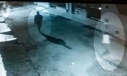 Imagens captadas por Câmeras de Segurança