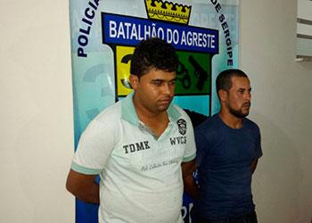 Dupla suspeita em pr�tica de assaltos � presa na zona rural de Campo do Brito