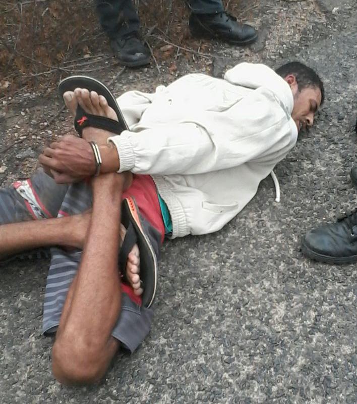 prisão assaltante Frei Paulo Sergipe