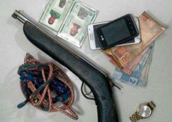 Trio responsável por assaltos no Sertão e Agreste sergipano é preso pelas policiais Civil e Militar