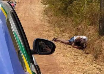 IML recolhe corpo de ex-presidiário executado a tiros no município de Salgado