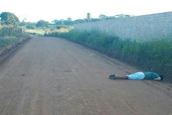 Marchante � morto na zona rural do munic�pio de Itabaiana