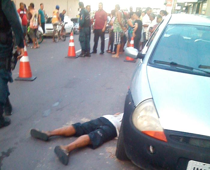 homicídio centro Aracaju Sergipe