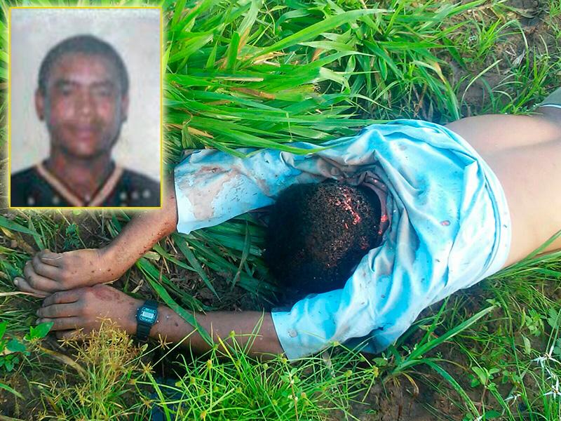 homicídio com facão povoado Terra Vermelha Campo do Brito Sergipe