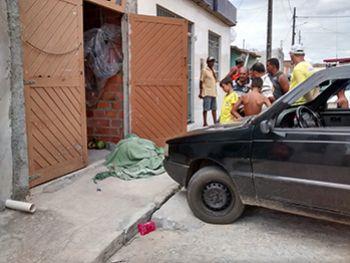 Radialista � morto a tiros em frente � pr�pria resid�ncia na periferia de Itabaiana