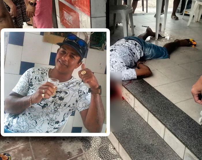 assassinato Itabaiana Sergipe Pistola ponto 380