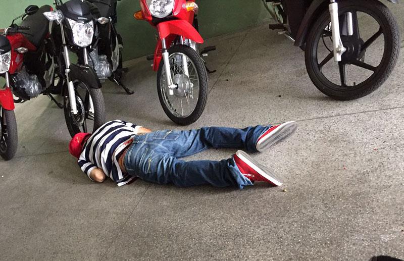 assassinato Itabaiana Sergipe Pistola ponto 40